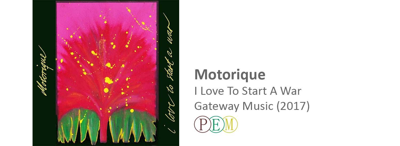 frederik brandt jakobsen motorique i love to start a war gateway music 2017 produced mix master mastering producer single spotify ET mastering full album vinyl record