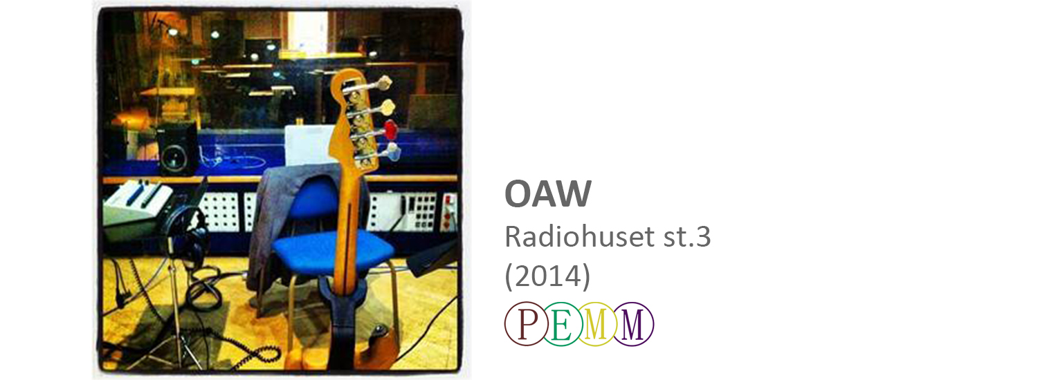Once A Week OAW live radiohuset st.3