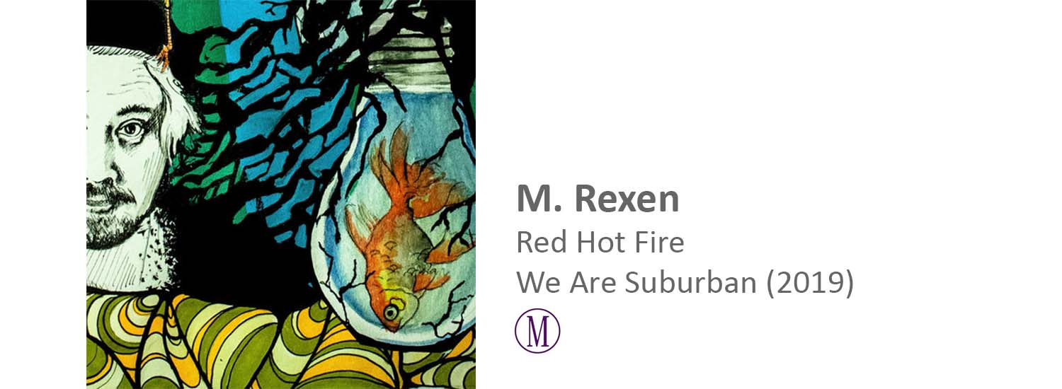 m. rexen red hot fire single master mastering frederik brandt jakobsen